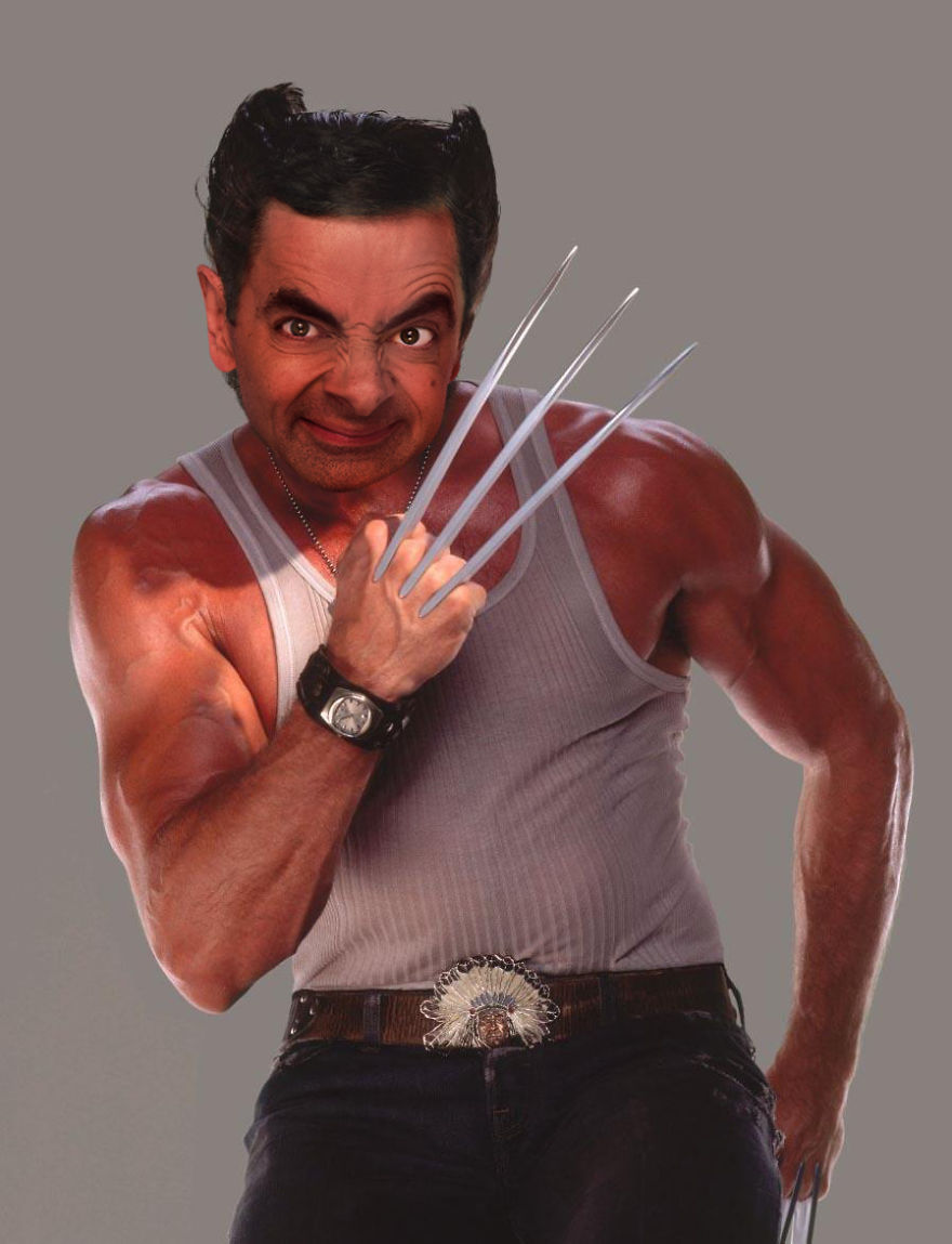 Mr Bean Funny Photoshop Images 15