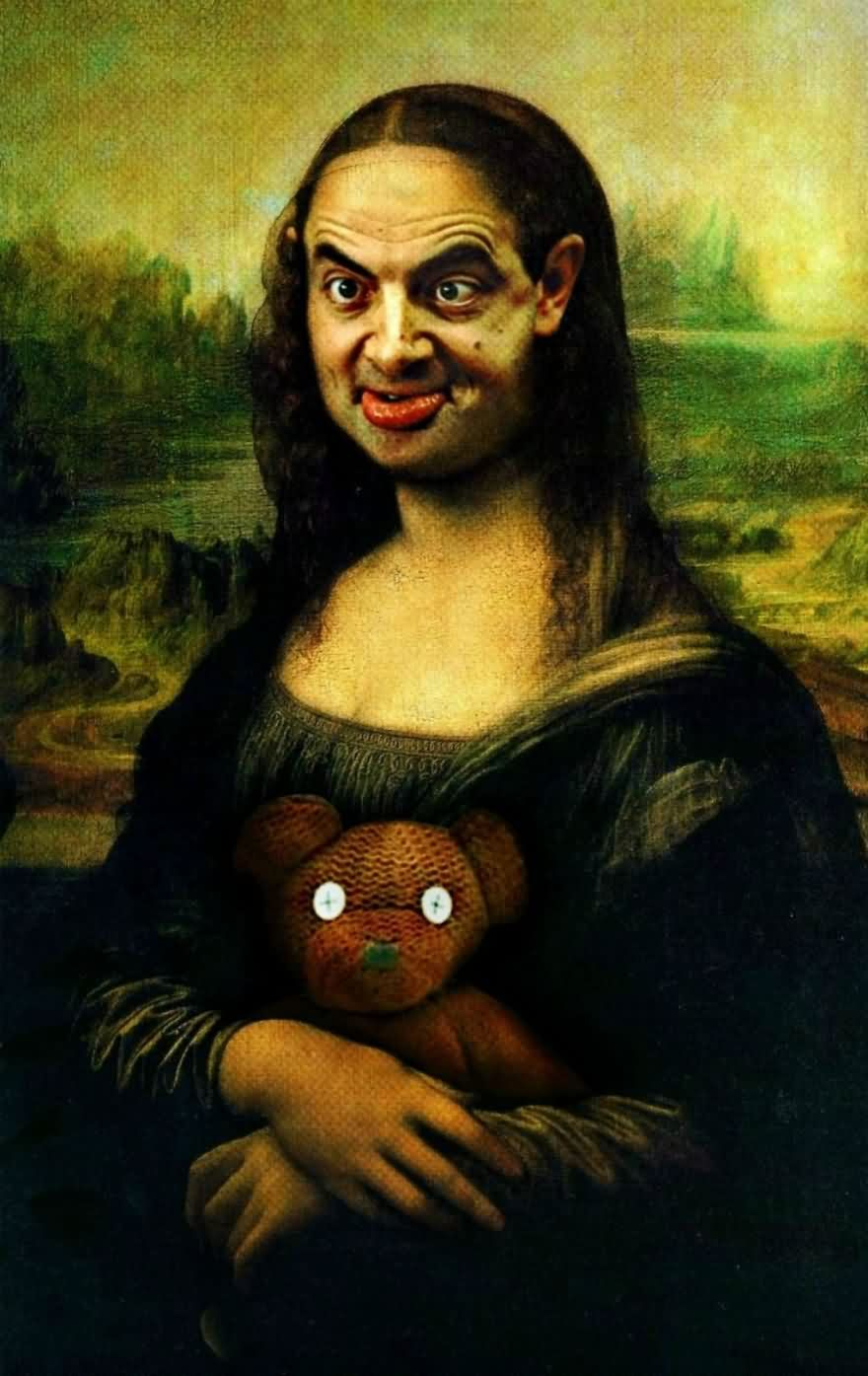 Mr Bean Funny Photoshop Images 18