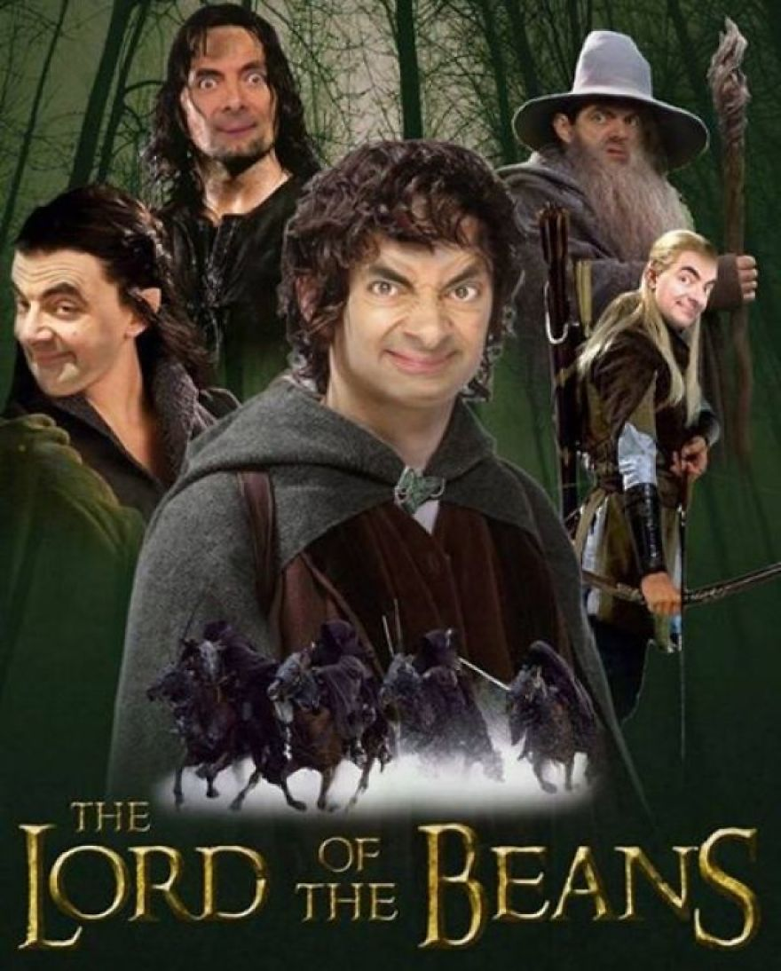 Mr Bean Funny Photoshop Images 30