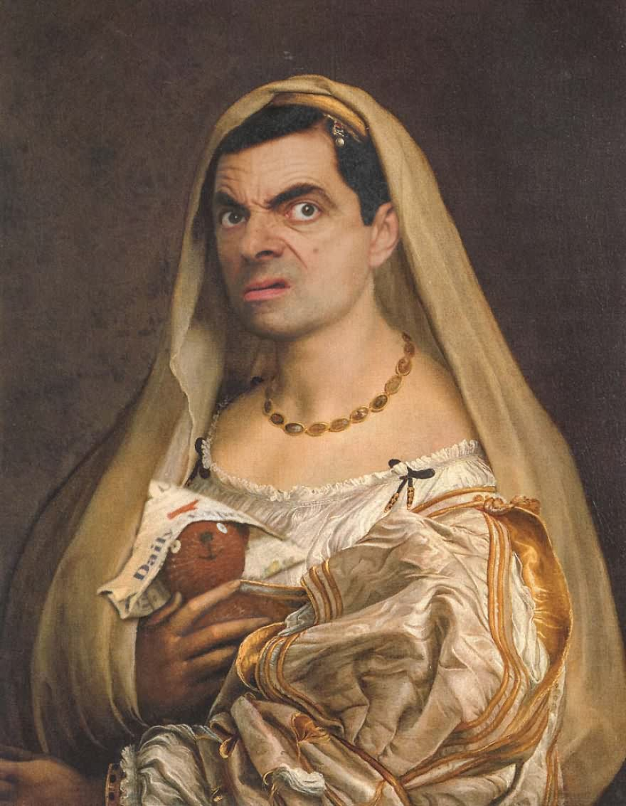 Mr Bean Funny Photoshop Images 32