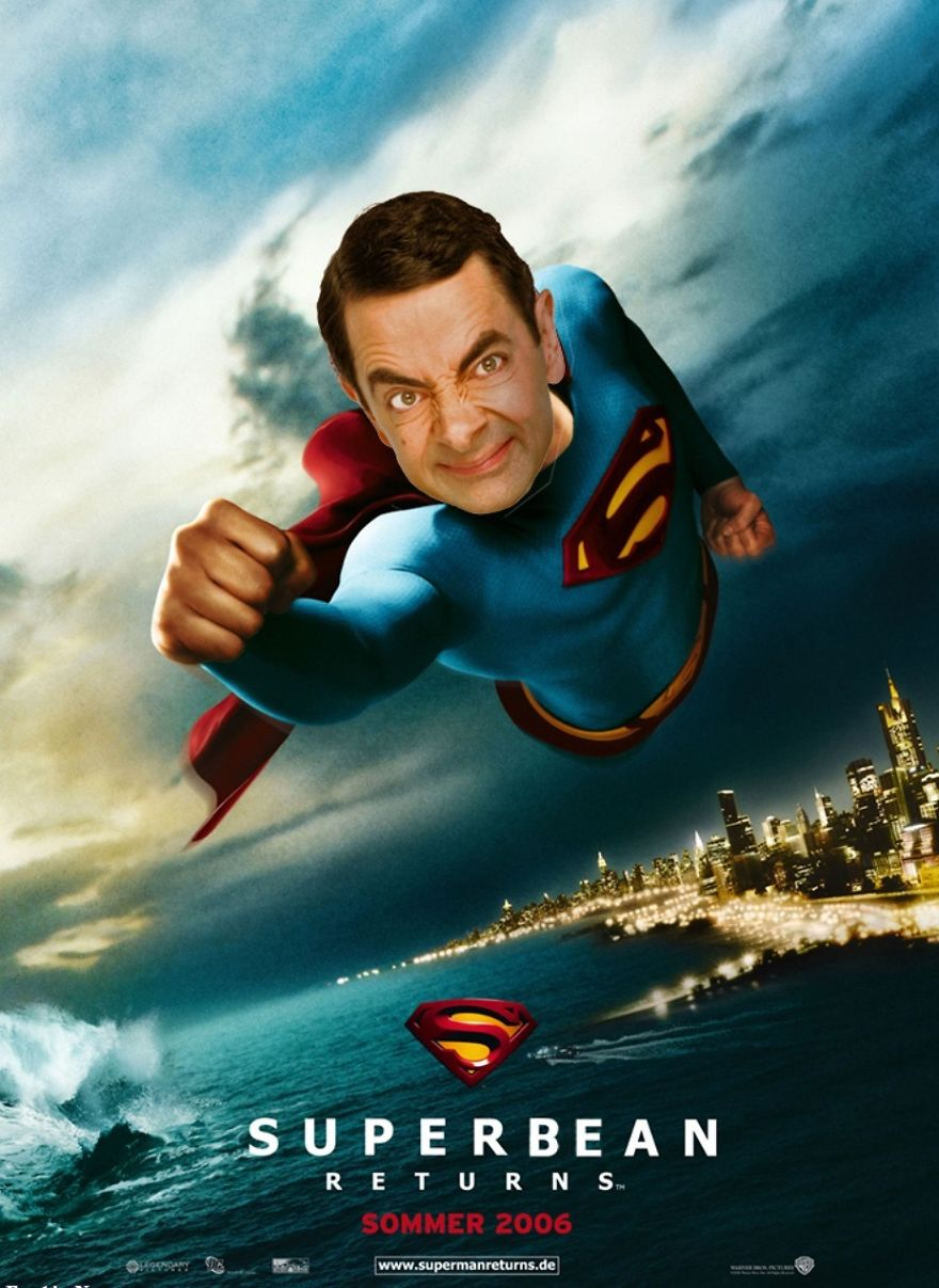Mr Bean Funny Photoshop Images 35