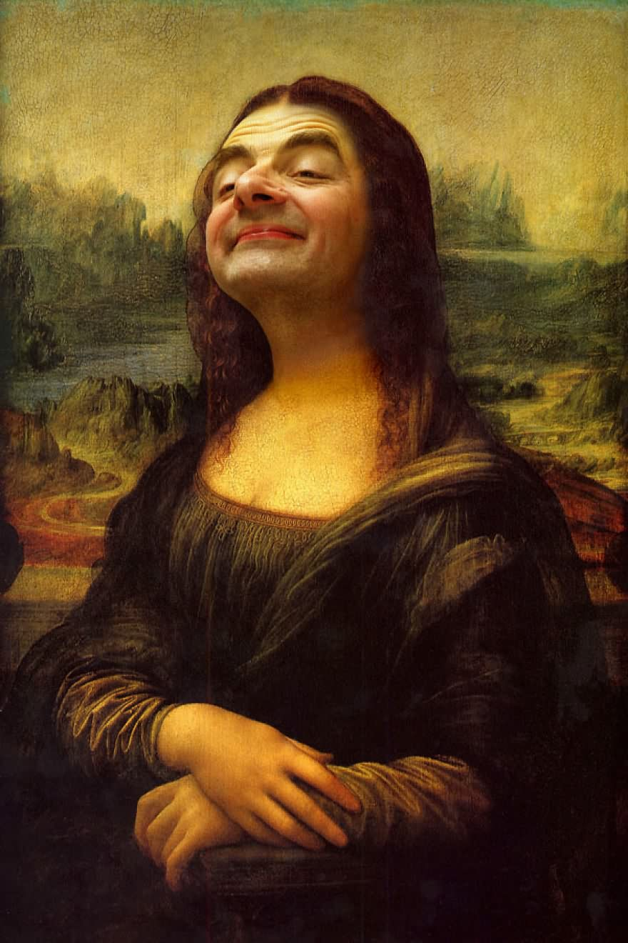 Mr Bean Funny Photoshop Images 41