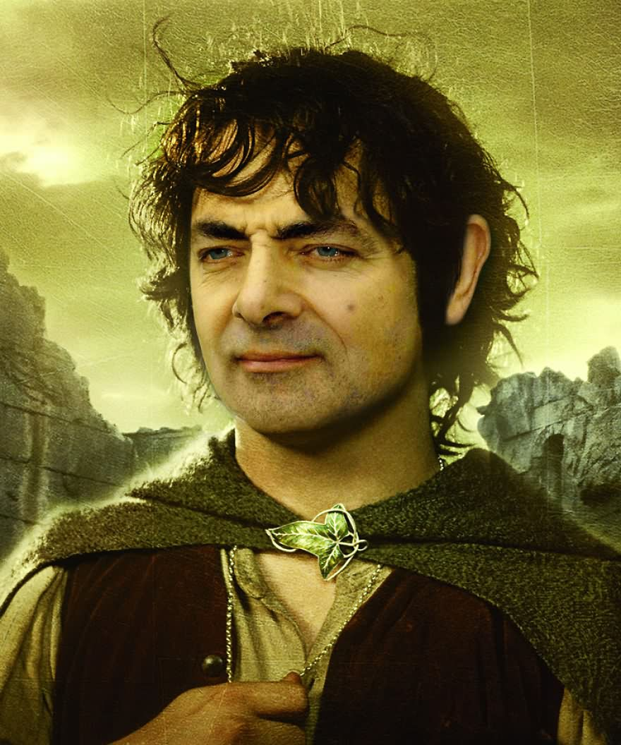 Mr Bean Funny Photoshop Images 47