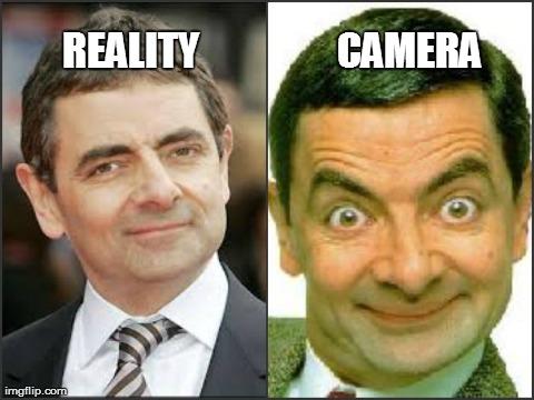 Mr Bean Meme Reality camera