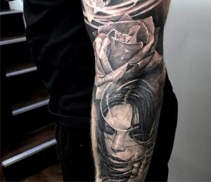 Out standing Donkey Kong Tattoo On Full sleeve