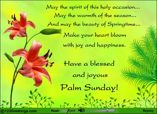 Palm Sunday Wishes Quotes 07