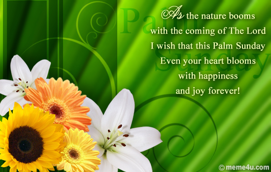 Palm Sunday Wishes Quotes 08