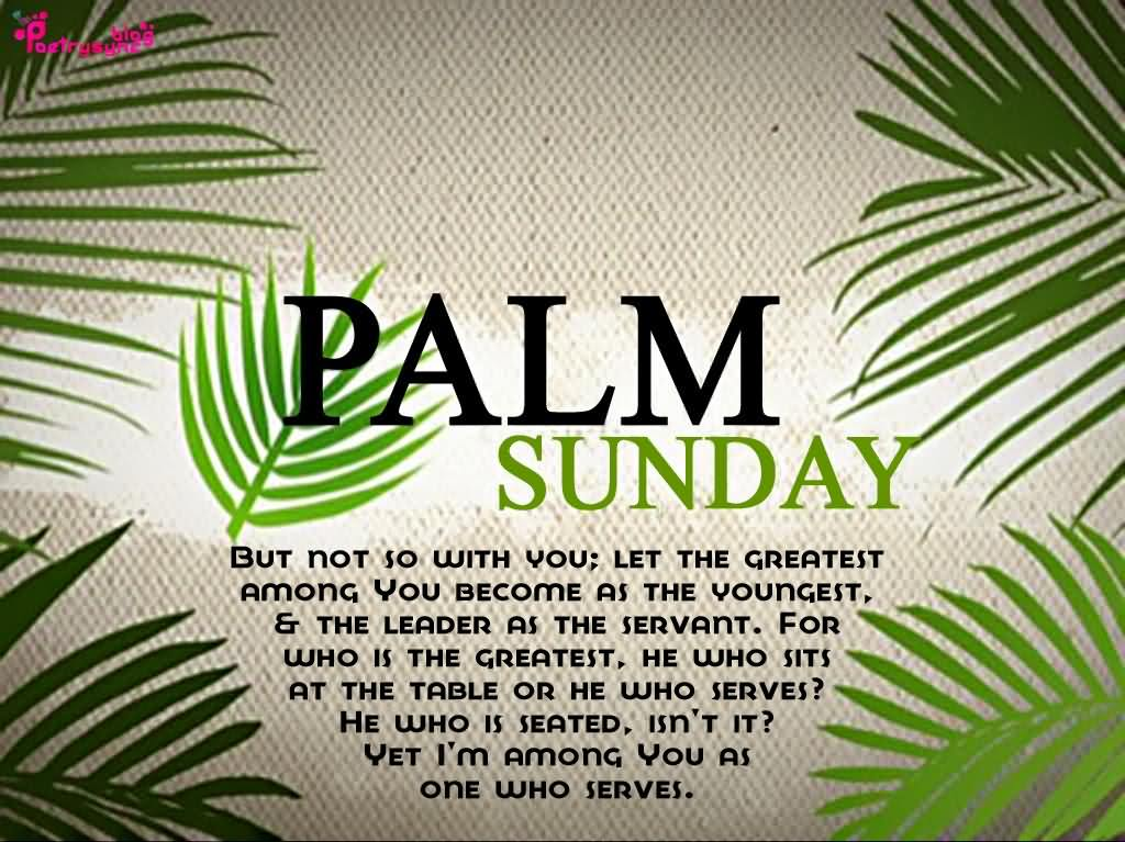 Palm Sunday Wishes Quotes 16