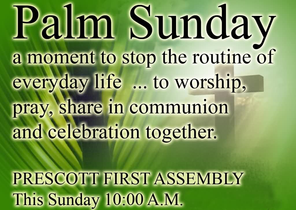 Palm Sunday Wishes Quotes 17