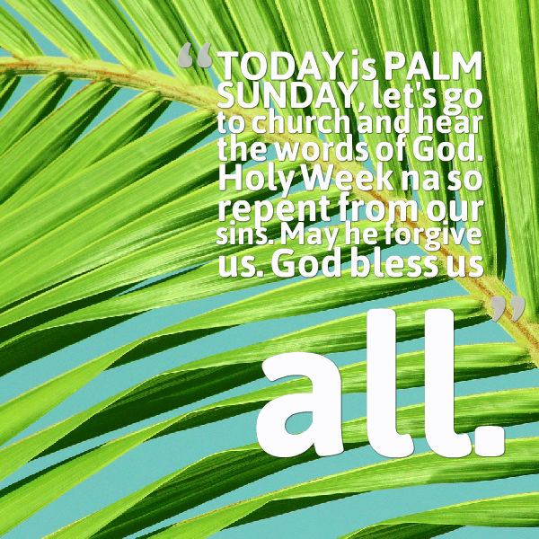 Palm Sunday Wishes Quotes 33