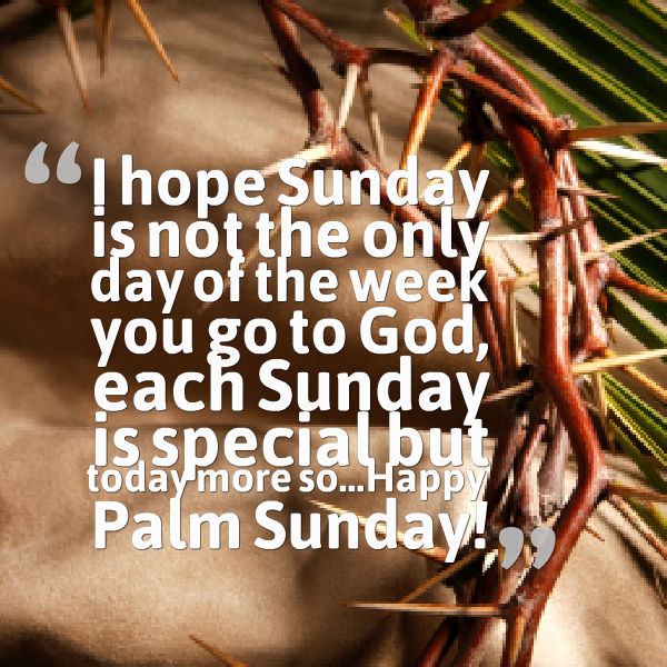 Palm Sunday Wishes Quotes 35