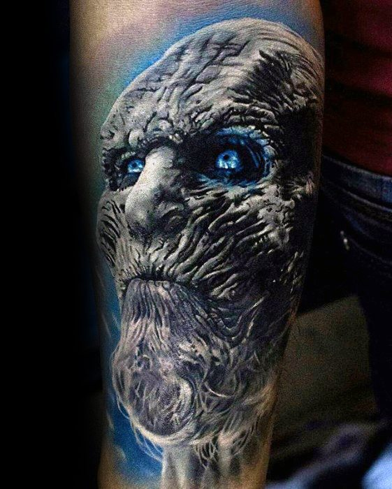 Passionate Game Of Thrones Tattoo On arm for boy