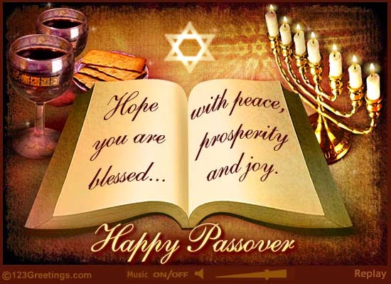 Passover Blessings Wishes Message Image