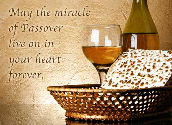 Passover Greetings Message Wishes Image