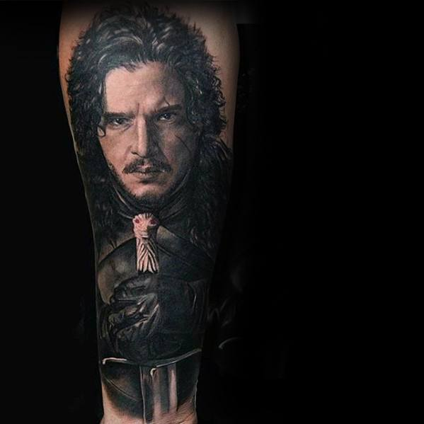 Popular Game Of Thrones Tattoo On arm for men