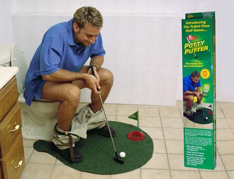 Potty Putter Golf Memes