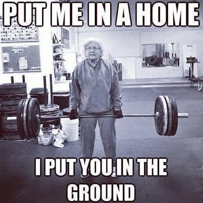 Put me in a home i put you in the Laugh Meme