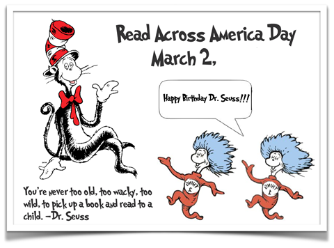 Read Across America Day March 2 Happy Birthday Dr. Seuss