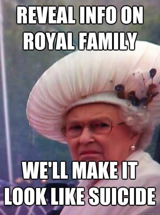 Reveal info on royal family we ll make it Family Meme