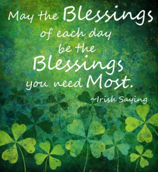 St. Patrick's Day Irish Sayings Quotes