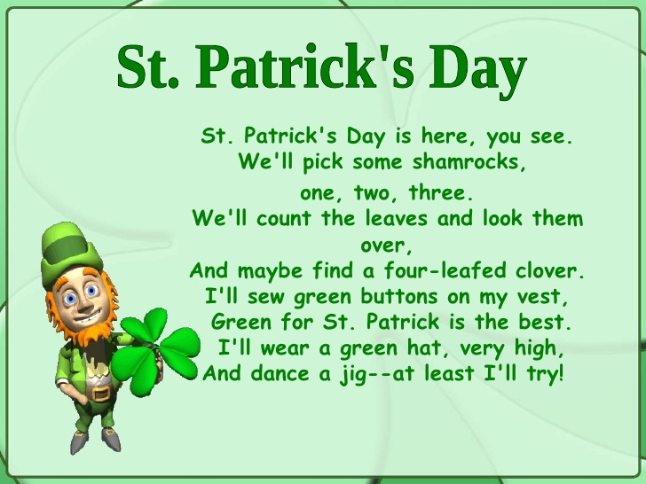 St. Patrick's Day Is The Best Wishes Message