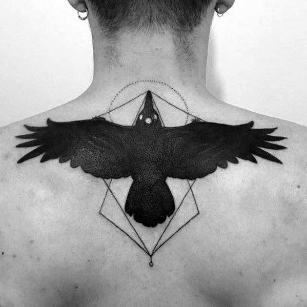 Sweet Game Of Thrones Tattoo On back for men
