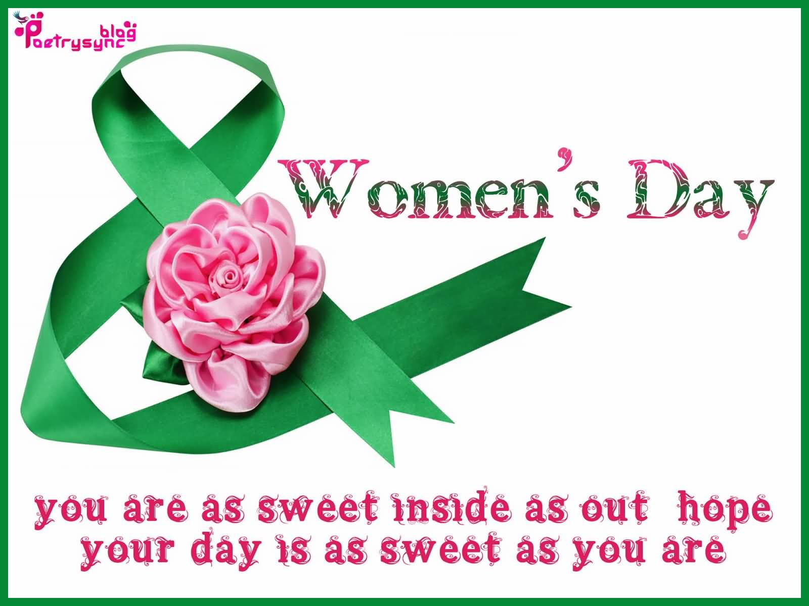 Sweet Women's Day Wishes Quotes Image