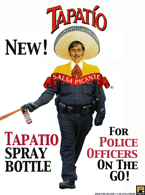 Tapatio new tapatio spray bottle Cops Meme