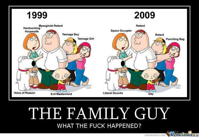 The family guy what the fuck happened Family Meme