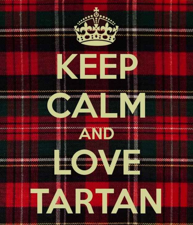 Wish You Happy Tartan Day Graphic