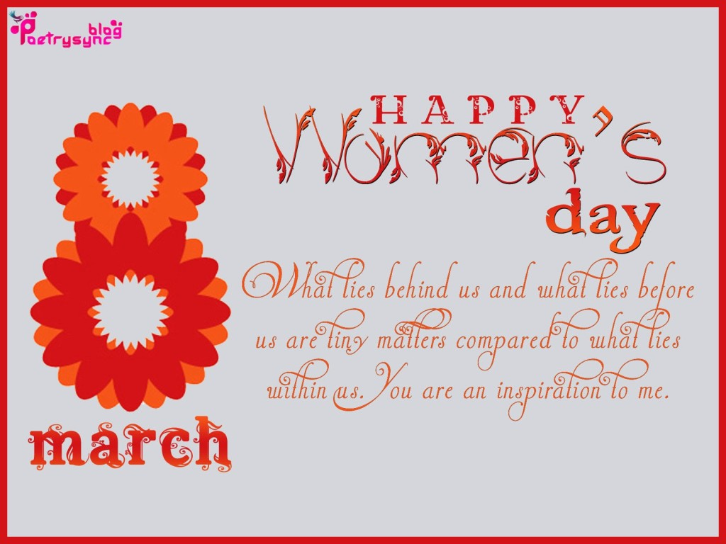 Wish You Happy Women's Day Greetings Message Image
