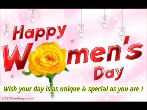 Wishing You A Very Happy Women's Day Wishes