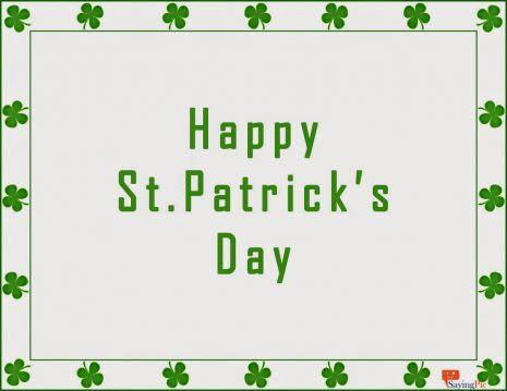 Wishing You Happy St. Patrick's Day Greetings Card Image
