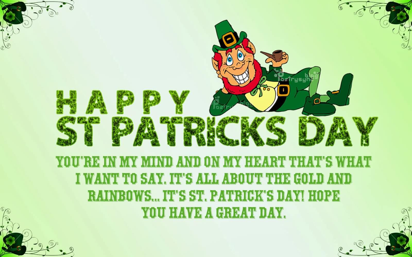Wishing You Happy St. Patrick's Day