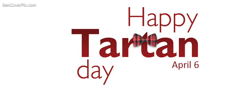 Wishing You Happy Tartan Day Greeting Image