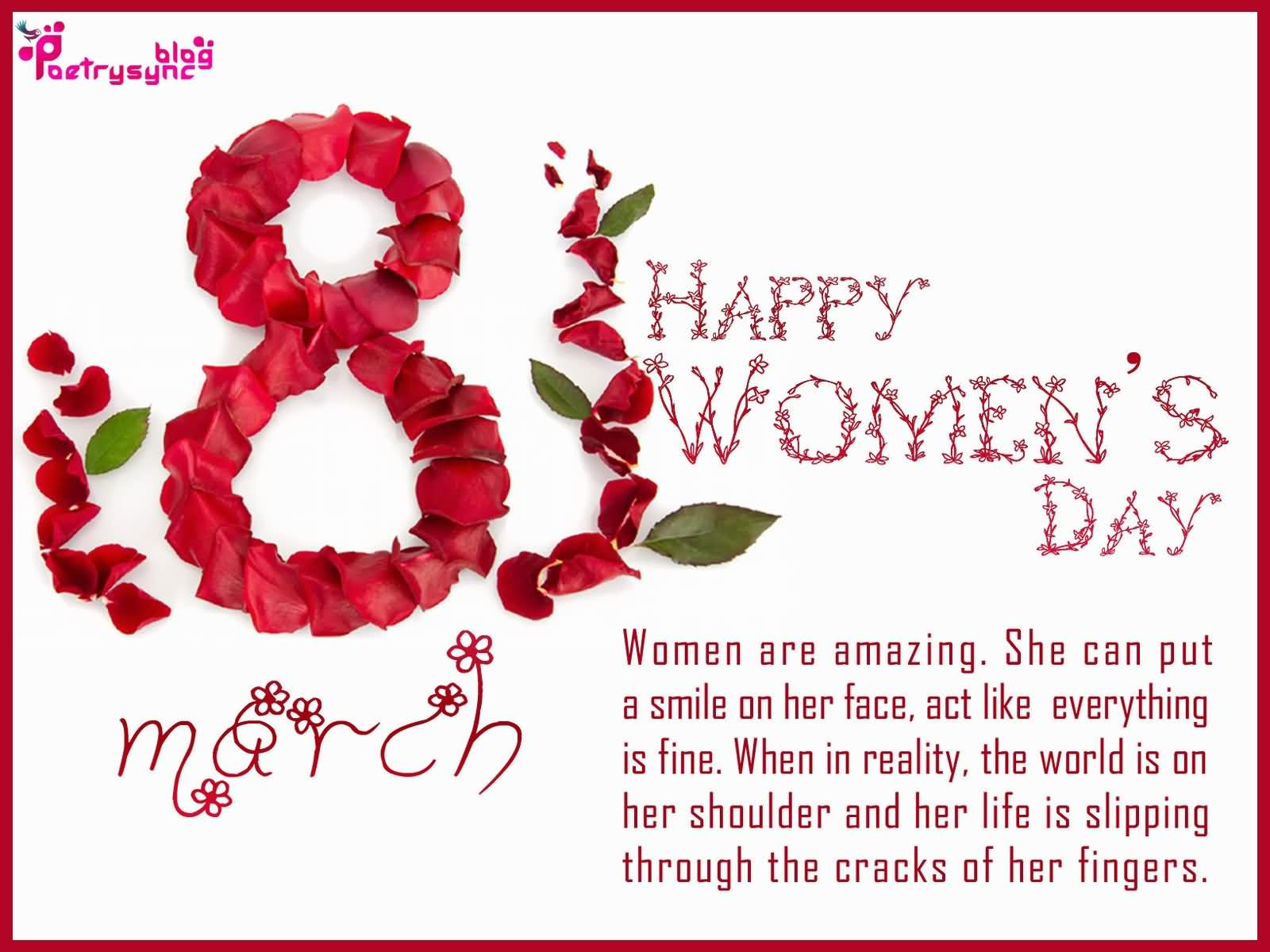 Wishing You Happy Women's Day Greetings Quotes