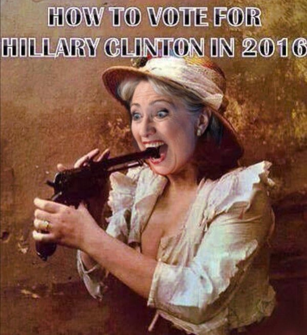 how to vote for hillary clinton in 2016 Funny Hillary Clinton Meme