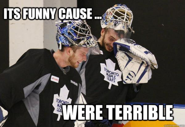 it's funny cause were terrible Hockey Memes