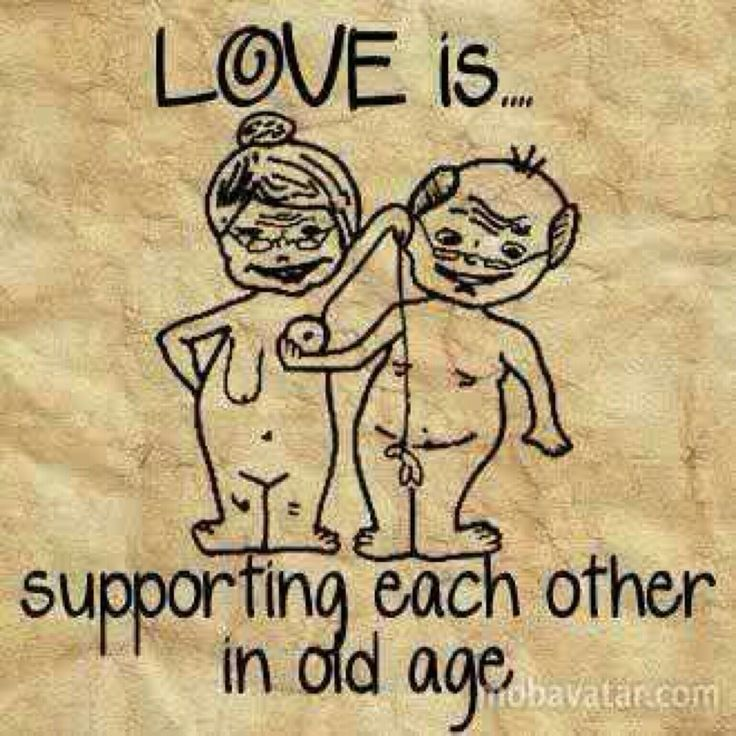 Age Quotes Love is supporting each other in old age