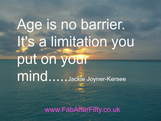Age Quotes age is no barrier it's a limitation