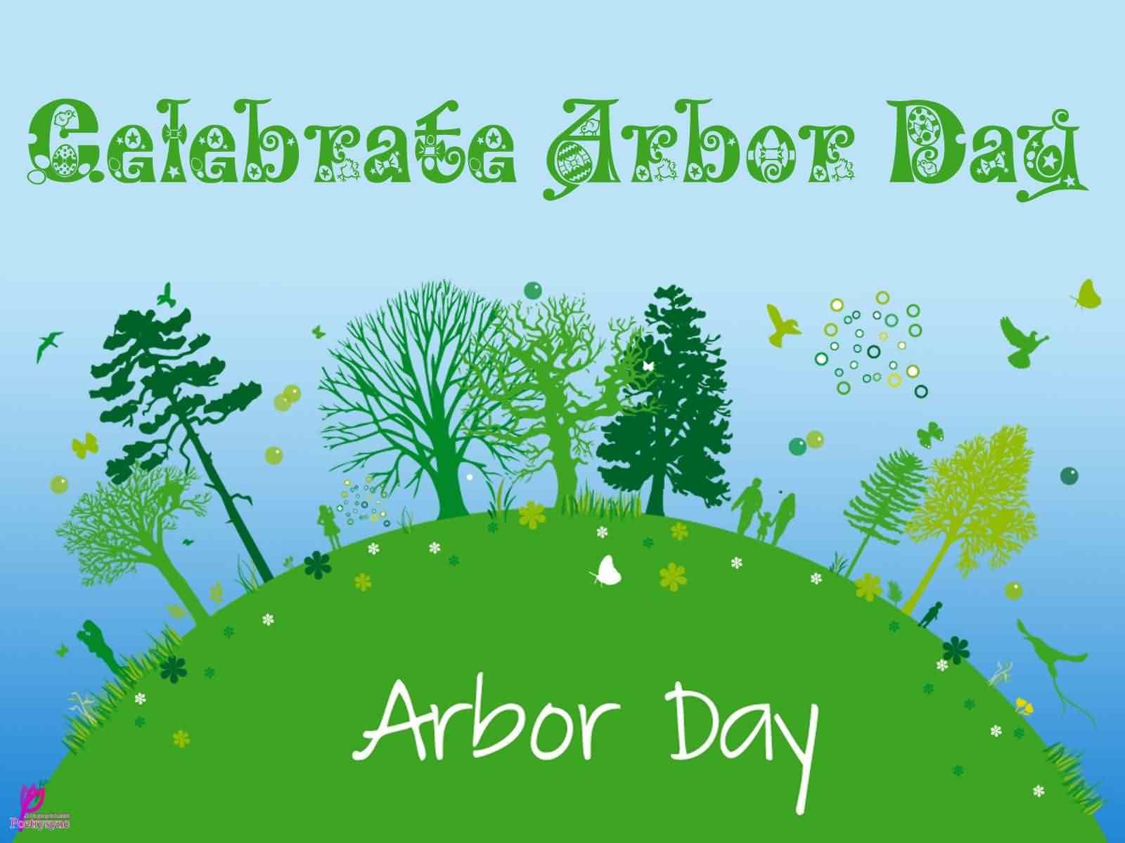 Arbor Day Poster Wallpaper
