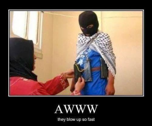 Awww they blow up so fast Terrorists Meme
