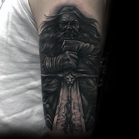 Best Game Of Thrones Tattoos On arm for boy