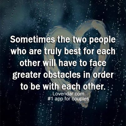 Best love Quotes sometimes the two people who are truly best for each