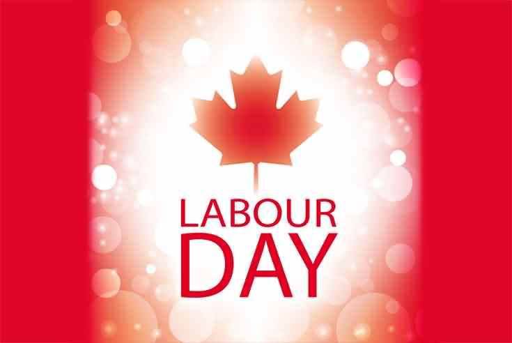 Canada Happy Labour Day Wishes Wallpaper