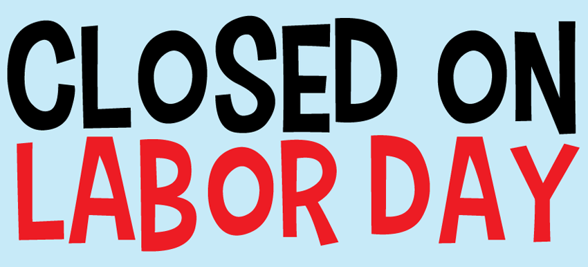 Closed On Labour Day Holiday Wishes Cover Image