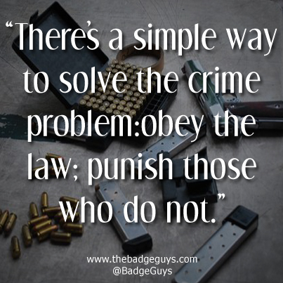 Criminal Quotes There S A Simple Way To Solve The Crime Picsmine