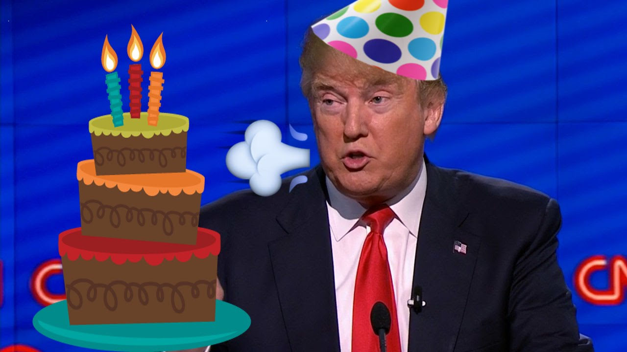 Trump Birthday Cake