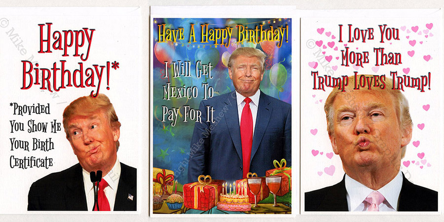 Donald Trump Birthday Meme Happy birthday provided you show me your birth certificate