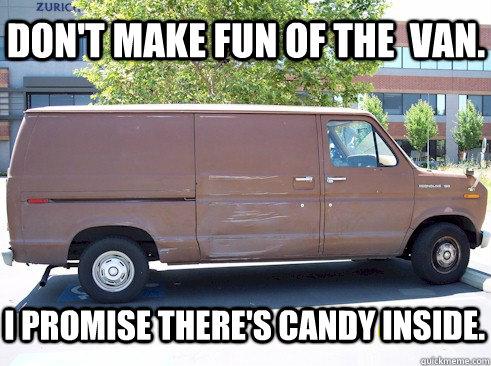 Don't make fun of the van Memes